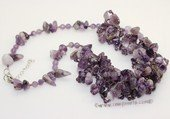 gsn189 Stylish amethyst beads princess necklace